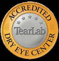 Tear Lab Accredidation Seal
